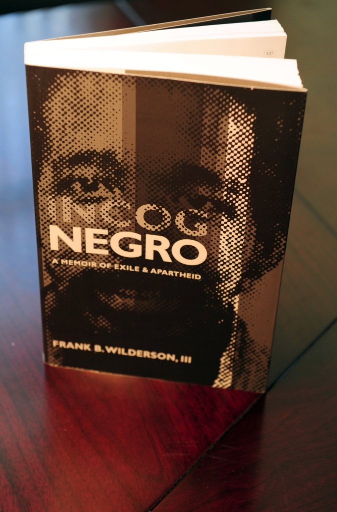 GENERIC CAPTION: Frank B. Wilderson, III, talks about his book and his double life revolving around political, social and racial issues as he has traversed his life.