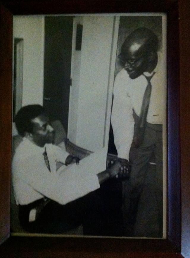 Kwame Ture and Leonard Carson Ball