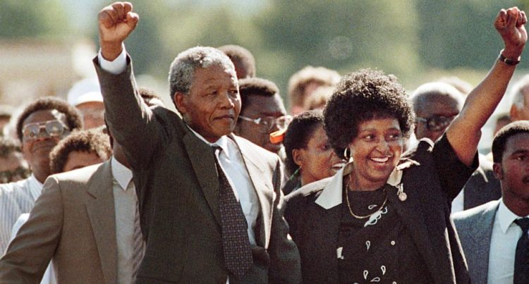 Nelson Mandela is Released